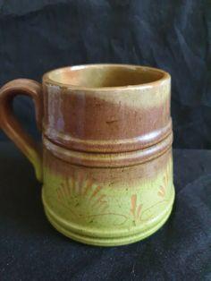 Vintage Latvia Riga USSR ceramic Mug
