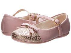 Pampili Bailarina 188188 (Toddler/Little Kid) Pink/Gold - Zappos.com Free Shipping BOTH Ways