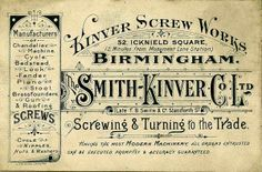 Typographic Trade Cards