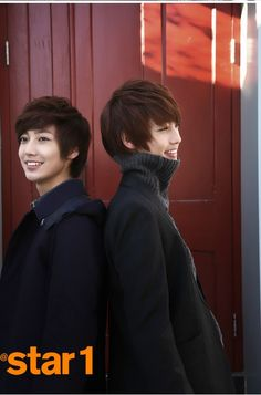 Kwang Min and Young Min  - @ Star1 Magazine
