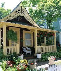 Resultat d'imatges de gingerbread cottage victorian house