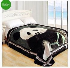 On sale for $39.95, an adorable panda blanket! pandathings .com