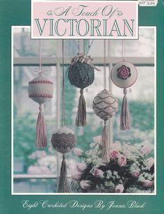 Ornament Crochet Patterns - Victorian Christmas Balls