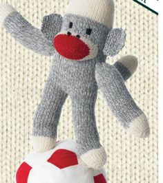 Knit Monkey Around ~ Free Pattern ( Also in PDF Version here: http://demandware.edgesuite.net/aamm_prd/on/demandware.static/Sites-JoAnn-Site/Sites-joann-project-catalog/default/v1392990830232/images/hi-res/project/pdf/P271365_monkey_around.pdf