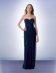 a757247f4b Bridesmaid Dress Style 980 - Bridesmaid Dresses by Bill Levkoff - Navy - RK  Bridal + Bella Bridesmaid