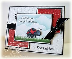 Caught a Bug by blessingsX3 - Cards and Paper Crafts at Splitcoaststampers
