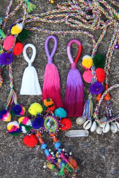Tassels, Pom Poms, and Fringe Oh My! Everything in life is better with tassels! from WomanShopsWorld #tassels
