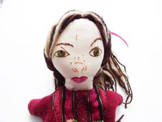 Mean Stepsister from Beauty and the Beast Hand Puppet  by Meoneil, $35.00