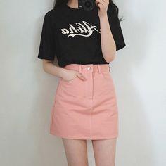 therethere : kfashion, korean fashion, ulzzang, asian fashion, fashion, ootd, outfit layout Pinterest : pushelle