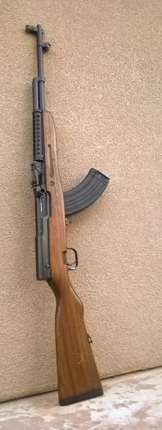 """everythingsks: """" SKS D in a Yugo stock The Wolverines stock cracked so now it has a new home. Looks pretty good with the ventilated tube guard. """""""