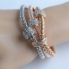 3 Piece Set Multilayer Women's Bracelet Retail – Rings 2