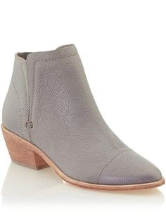joie slip on booties - love this color