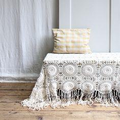 Vintage Crochet Bedspread via @Etsy