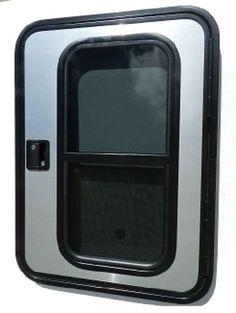 Camper Window 42 Wide x 12 Tall x 1-1//2 Wall Thickness RV Cargo Teardrop Horse