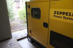 Diesel-Generator GEP 55 in private household.