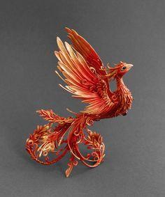 Firebird sculpture phoenix sculpture phoenix par MyOwnDragon                                                                                                                                                     Plus