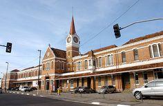 Campinas (SP) - antiga estação ferroviária, atual Estação Cultura,