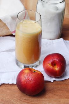 Recipe: Vanilla Nectarine Agua Fresca — Recipes from The Kitchn