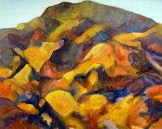 obra Mirazo -oleo sobre lienzo 100x120 cm
