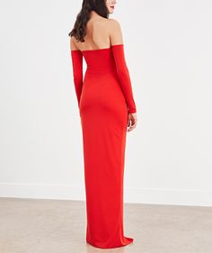 The Carnaby Dress in Chilli Red