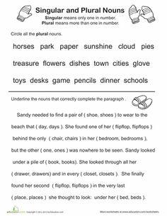 High School Grammar Worksheets with Answer Key