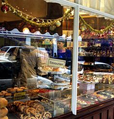 There's defnitely something great about a bakery window