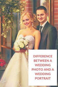 As important as a wedding photograph may be, a custom wedding portrait is truly a unique wedding gif Acrylic Wedding Invitations, Luxury Wedding Invitations, Unique Wedding Gifts, Unique Weddings, Wedding Portraits, Wedding Photos, Wedding Tips, Wedding Band, Wedding Linens
