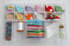 Pleasant Home – Organizing English Paper Piecing Projects