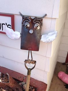 Shovel Owl from my backyard shop!