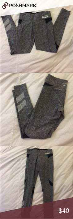 For sale again! Victoria's Secret workout leggings Previous buyer never picked up from post office so these are up for grabs again (and you can't delete sold listings!) Victoria's Secret PINK full length workout leggings SIZE SMALL in great condition PINK Victoria's Secret Pants Leggings