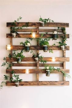 15 Indoor Garden Ideas for Wannabe Gardeners in Small Spaces No patio? No proble… 15 Indoor Garden Ideas for Wannabe Gardeners in Small Spaces No patio? No problem. You can still build a lush. Diy Pallet Projects, Woodworking Projects Diy, Pallet Ideas, Garden Projects, Woodworking Plans, Ideas For Wood Pallets, Diy Projects For Home, Woodworking Equipment, Woodworking Furniture