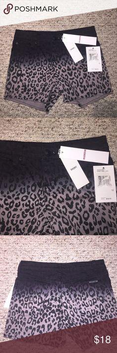 Hudson Dark Grey Leopard Girls Shorts Hudson Dark Grey Leopard Girls Shorts; size 12; new with tags Hudson Jeans Bottoms Shorts