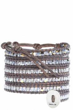 Chan Luu - Crystal Wrap Bracelet - $315
