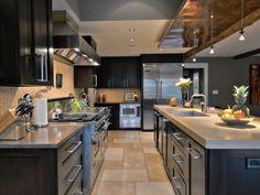 Very Angular Modern Kitchen [1024 x 768]