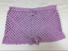 Cách móc quần sooc phần cuối. How to crochet short - YouTube