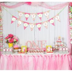 Cupcakes and Paisley Birthday Party