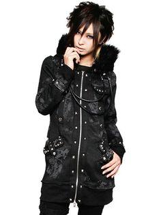 BAILOUT Long Parka / See more at www.cdjapan.co.jp... #punk #jrock