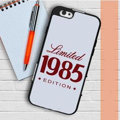1985 Limited Edition 30Th Birthday Gift iPhone 6   6S Case Casefreed