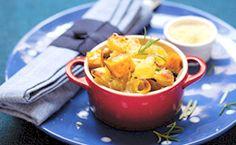 Receita de Rita Lobo: macarrão de forno com abóbora assada para servir ao receber os amigos. Assista à receita do Cozinha Prática.