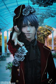 Ciel Phantomhive - Black Butler (where's the eye patch?)