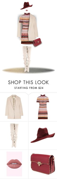 """""""73. Spring White Glam"""" by milva-bg ❤ liked on Polyvore featuring Halston Heritage, Missoni, Gianvito Rossi, Philip Treacy and Valentino"""