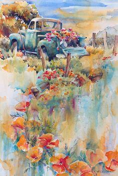 """""""Flower Beds"""" by Brenda Swenson"""