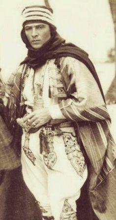 Rudolph Valentino- the sheik