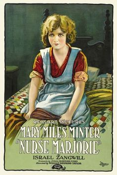 Big collection of silent movie posters if you follow the link. So beautiful!