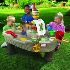 Anchors Away Pirate Ship Water Table | Kids Cool Toys