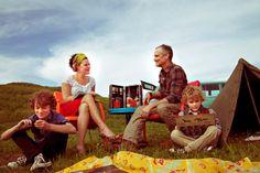 Fine Art PhotographyVintagefamily camping retro by StorytellingArt, $12.00