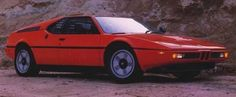 Giugiaro BMW M1. 1st of the M-Cars and also 1st mid-engine production BMW