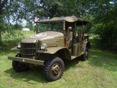 1942 Dodge WC WC-21, ½ Ton, Open Cab