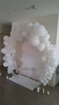 Whimsical heavenly cloud inspired archway - for photo back drop