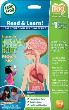LeapFrog Tag Interactive Human Body Discovery Pack: